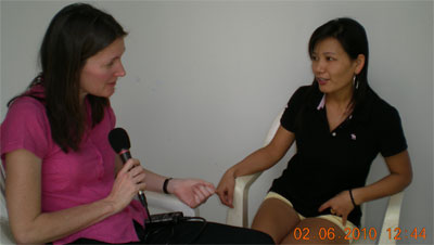 International Correspondent, Mary Kay Magistad interviews Chun Yu Wang